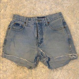 Express Cutoff Jean Shorts